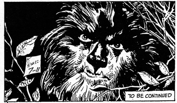 dark shadows comic strip 5 werewolf header