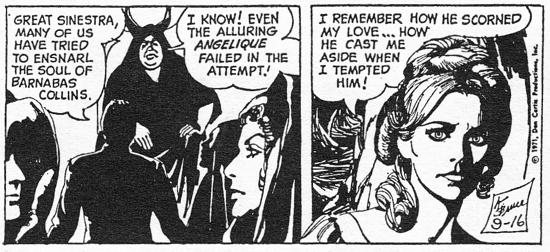 dark shadows comic strip 6 angelique