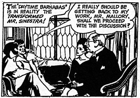 dark shadows comic strip 6 daytime b