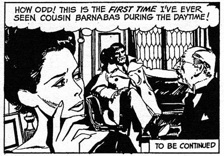 dark shadows comic strip 6 daytime