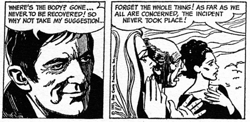 dark shadows comic strip 6 forget
