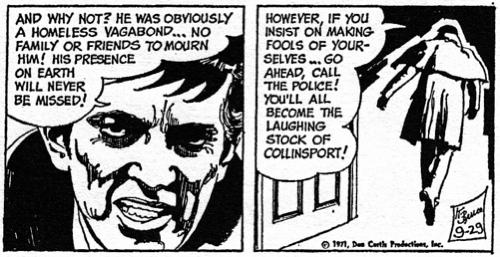 dark shadows comic strip 6 laughing