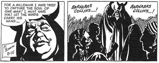 dark shadows comic strip 6 millennium