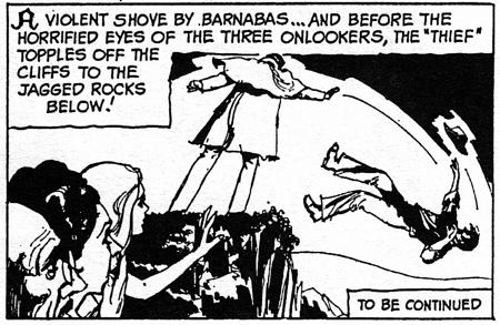 dark shadows comic strip 6 shove