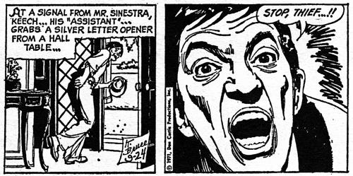 dark shadows comic strip 6 stop thief