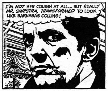 dark shadows comic strip 6 transformed