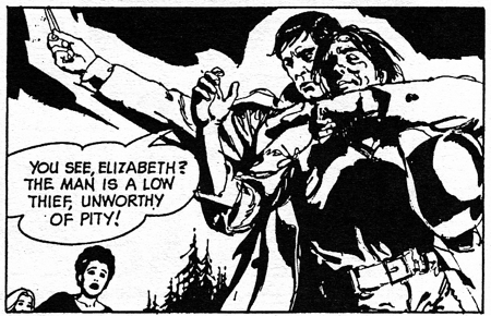 dark shadows comic strip 6 unworthy