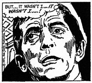 dark shadows comic strip 6 wasn't i