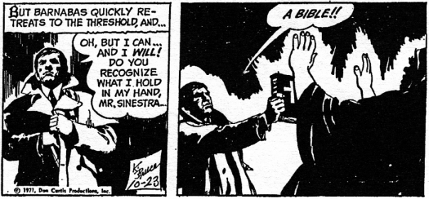 dark shadows comic strip 7 bible