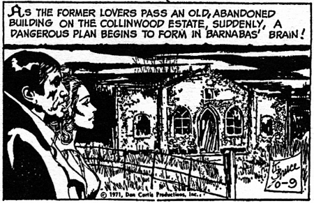 dark shadows comic strip 7 former lovers