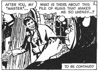 dark shadows comic strip 7 master