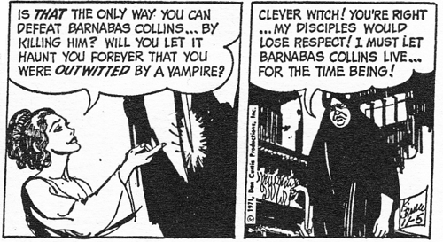 dark shadows comic strip 7 outwitted