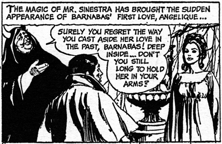 dark shadows comic strip 7 sinestra hold