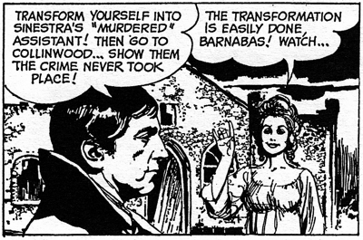 dark shadows comic strip 7 transform