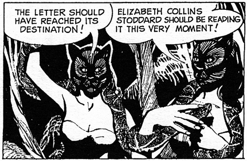 dark shadows comic strip 8 cats