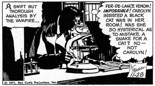 dark shadows comic strip 8 mistake