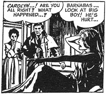 dark shadows comic strip 8 visitor