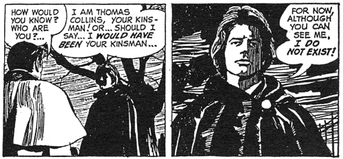 dark shadows comic strip 9 i do not exist