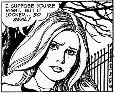 dark shadows comic strip 9 so real