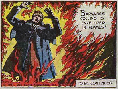 dark shadows comic strips 2 enveloped