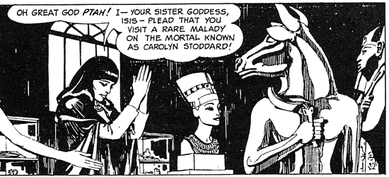 dark shadows comic strips 3 ptah
