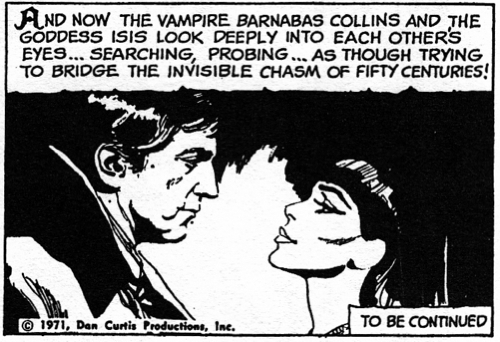 dark shadows comic strrip 3 eyes