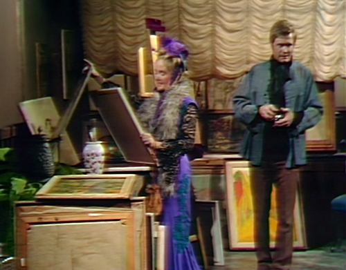 864 dark shadows pansy tate picture