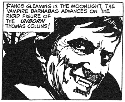 dark shadows comic strip 10 blood