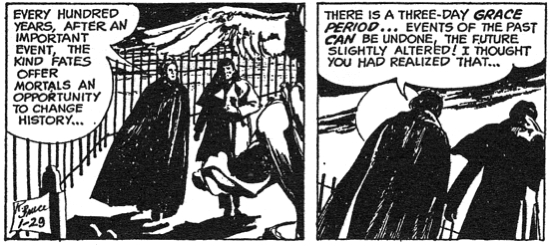 dark shadows comic strip 10 opportunity