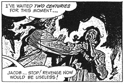 dark shadows comic strip 10 revenge