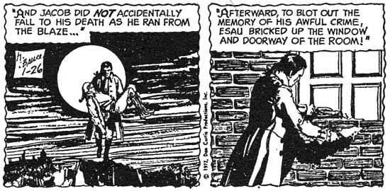 dark shadows comic strip 9 esau