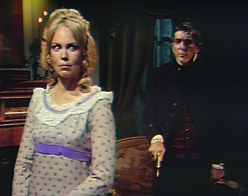 885 dark shadows angelique barnabas frog scorpion