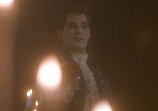 1991 dark shadows barnabas clown makeup